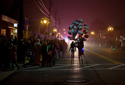 Day three hundred forty three. 12/8/2012. Christmas parade in Mount Ephraim, NJ. Can't miss the balloon vendor!