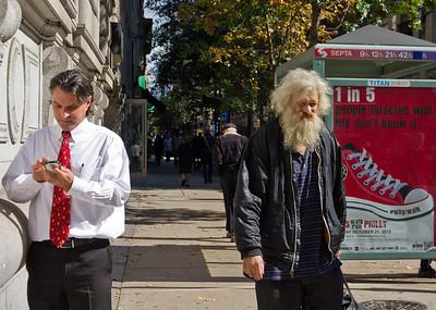 Messages. Philadelphia. October 2012